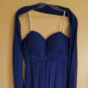 Empire evening gown